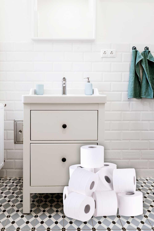 Tvättmästarn Maxrullen Toalett